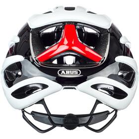 ABUS AirBreaker Kypärä, white/red